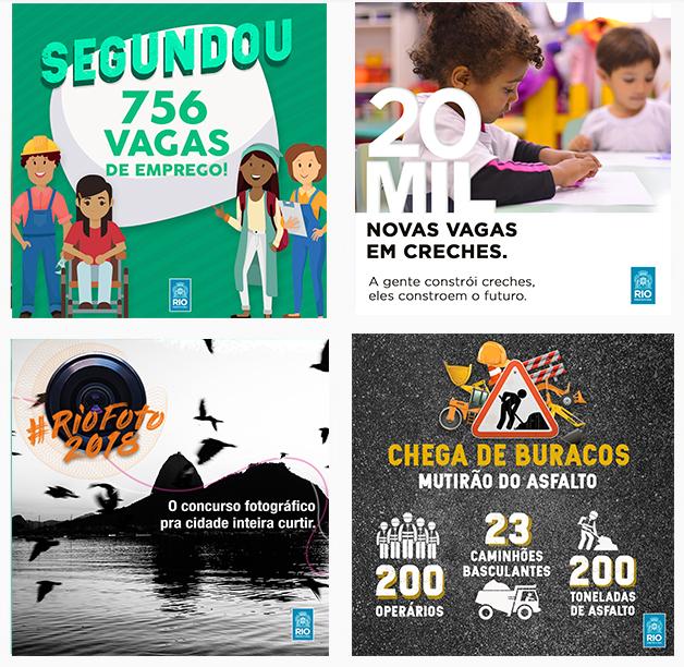 Instagram da Prefeitura do Rio